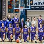 Todas las plantillas del primer equipo masculino de Guadalajara Basket