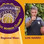 Luis Narro será el entrenador del infantil masculino regional