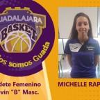Michelle Raposo será la entrenadora del cadete femenino para la temporada 2020-2021