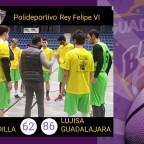 Primer partido de pretemporada para el Lujisa Guadalajara