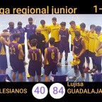 Estreno en la Liga Regional Junior con una abultada victoria en el derbi alcarreño
