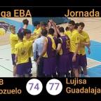 El Lujisa Guadalajara se reencuentra con la victoria ante CB. Pozuelo