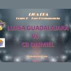 Derrota del Lujisa Guadalajara ante CB.Daimiel