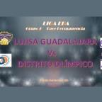 Derrota del Lujisa Guadalajara ante Distrito Olimpico