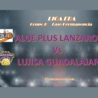 El Lujisa Guadalajara se trae la victoria de Lanzarote y suma su segunda victoria en ésta fase.