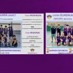 Los equipos infantil femenino y masculino logran el subcampeonato Regional.