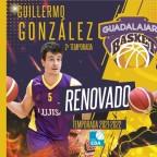 Guillermo González seguirá un año más de morado en el Lujisa Guadalajara