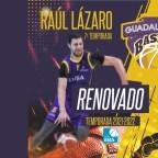 Raúl Lázaro renueva y seguirá un año más en el Lujisa Guadalajara