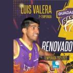 Luis Valera segunda renovación del Lujisa Guadalajara 21/22