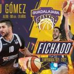 Eduardo Gómez nueva incorporación para el Lujisa Guadalajara 2020-2021.