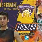Temur Kiknadze se incorpora a la plantilla del equipo EBA