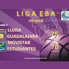El Lujisa EBA consigue su tercera victoria venciendo al Movistar Estudiantes